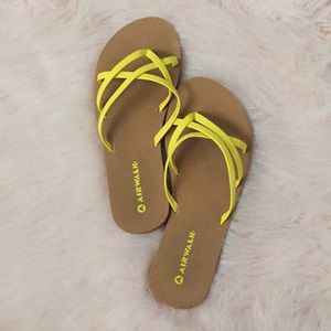 Yellow cute sandals